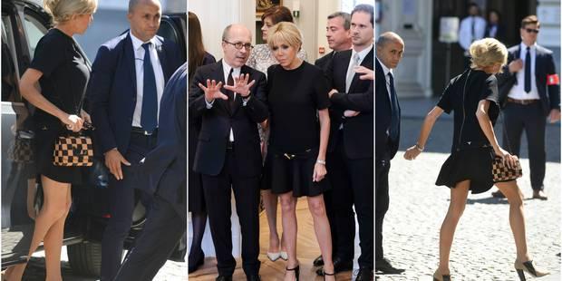 Et Qui Avait La Robe Plus Courte Brigitte Macron