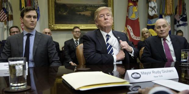 Affaire russe: la pression monte sur la Maison Blanche - La Libre