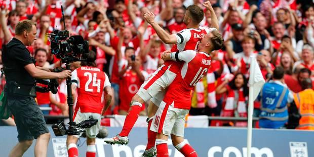 Au terme d'une fin de match haletante, Arsenal dompte Chelsea et remporte la FA Cup (2-1) - La Libre