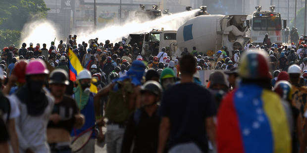 Venezuela: l'opposition dans la rue pour défendre la liberté d'expression - La Libre