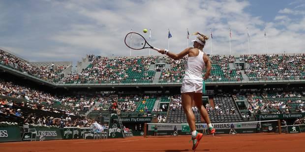 Roland-Garros: Angelique Kerber éliminée au premier tour, Thiem expéditif - La Libre