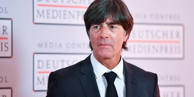 Football : le coup de gueule du sélectionneur allemand - La Libre