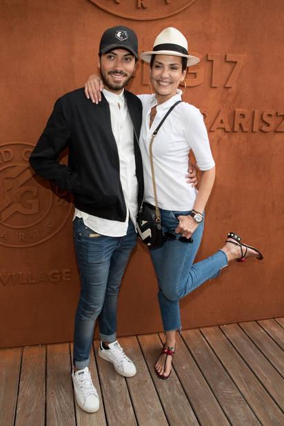 La fashion queen Cristina Cordula et son fils