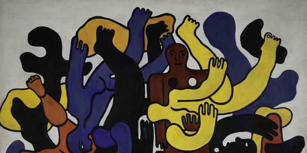 """Grande expo Fernand Léger, """"le Beau est partout"""" - La Libre"""