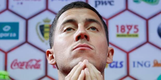 Eden Hazard se blesse et ne jouera pas contre la Tchéquie, ni l'Estonie - La Libre