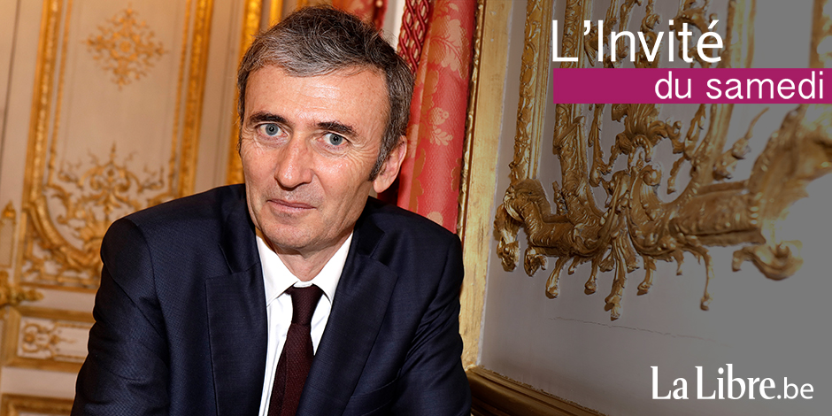 """Brice Teinturier: """"Nous voyons une majorité absolue se dessiner pour 'En Marche !'"""" - La Libre"""