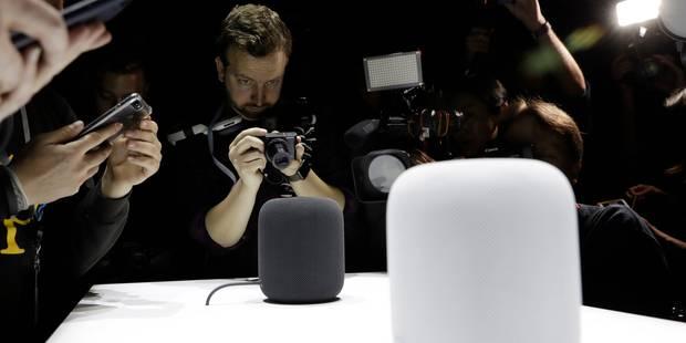 HomePod : Apple lance, à son tour, une enceinte connectée - La Libre