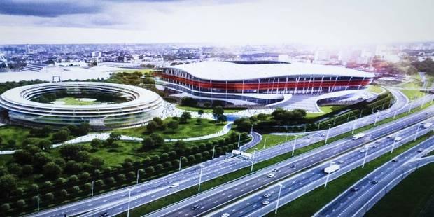 Stade national: le projet ne répondrait pas aux exigences de l'UEFA - La Libre