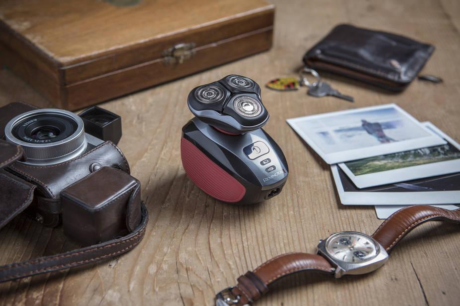 La Remington 360° pour se raser au plus près et ses accessoires pour préparer, masser, tondre et nettoyer la peau. 89.99€