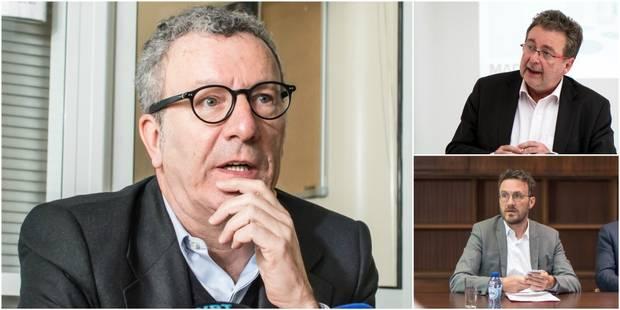 """Vervoort, sp.a, Open Vld, cdH, Ecolo, Défi... Mayeur """"poussé"""" vers la démission - La Libre"""