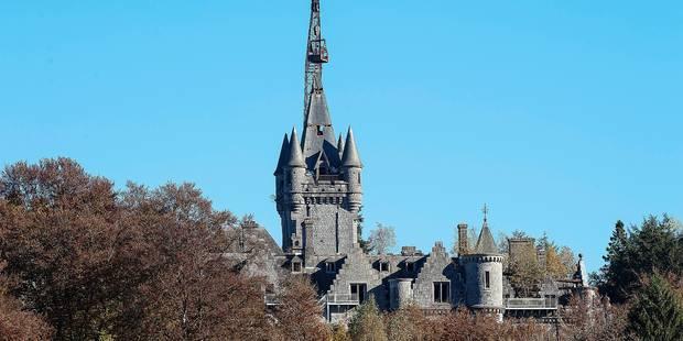 Pourquoi la démolition du château de Noisy est-elle suspendue? - La Libre