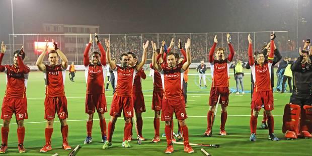Les Red Lions battent l'Espagne (1-2) en préparation - La Libre