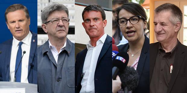 Législatives : Ça passe pour Valls, Mélenchon, Lassalle et Ruffin ; ça casse pour Cosse et Duflot - La Libre