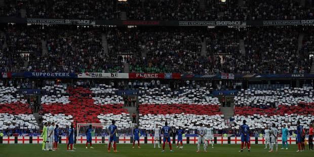 Quand le stade de France rend hommage aux victimes des attentats de Londres et Manchester (Vidéos) - La Libre