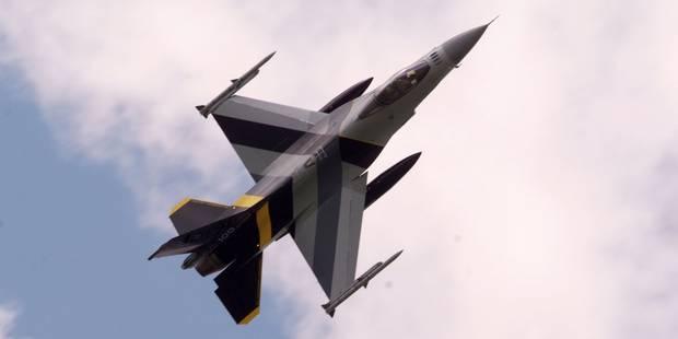Le gouvernement décidera de la prolongation des quatre F-16 en Syrie au prochain conseil - La Libre