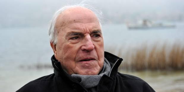 Décès d'Helmut Kohl : un leader au rendez-vous de l'Histoire - La Libre