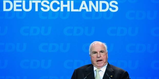 """Décès d'Helmut Kohl: """"Un des plus grands leaders de l'Europe d'après-guerre"""" - La Libre"""