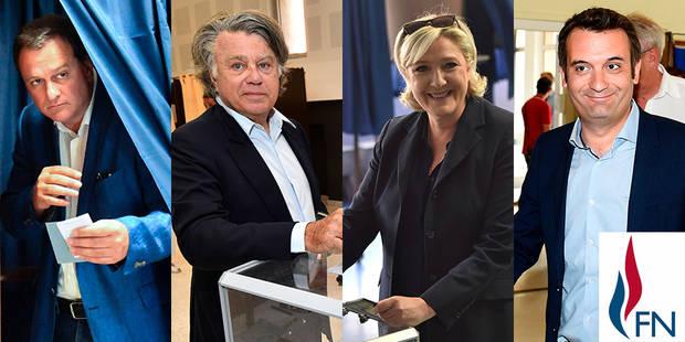 Législatives françaises : Les frontistes Le Pen, Aliot et Collard élus ; Philippot battu - La Libre