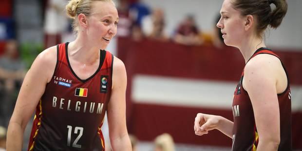 Euro de basket féminin: la Belgique bat la Lettonie et se qualifie pour les quarts de finale - La Libre