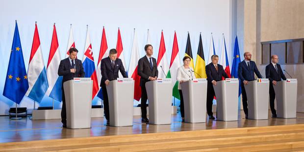 """Les pays de Visegrad et du Benelux essaient de """"mieux se comprendre"""" - La Libre"""
