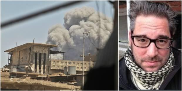 """Décès du journaliste Stephan Villeneuve qui réalisait un documentaire pour """"Envoyé Spécial"""" à Mossoul - La Libre"""