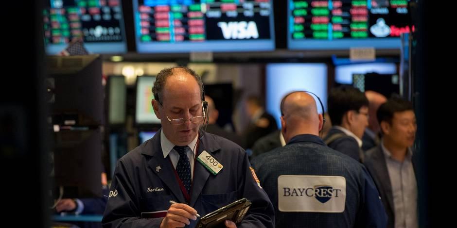 Revue boursière: nouveau coup de froid sur le secteur bancaire - La Libre