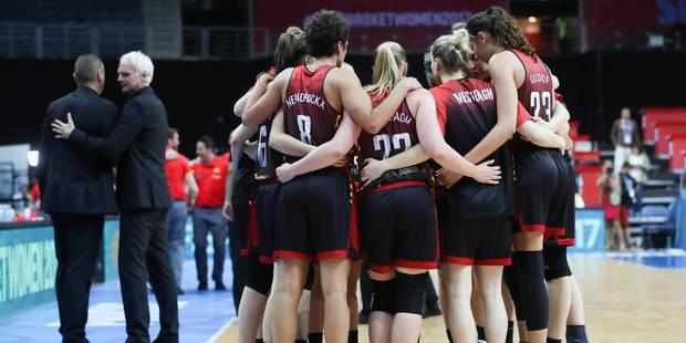 """Euro de basket: éliminées par une Espagne """"trop forte"""", les Belgian Cats joueront contre la Grèce pour le bronze - La Li..."""