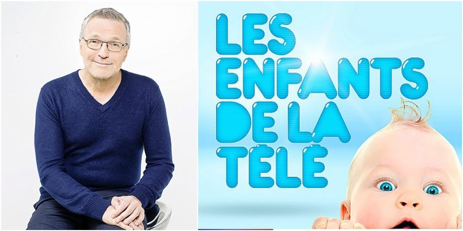 Laurent Ruquier et les enfants de la télé