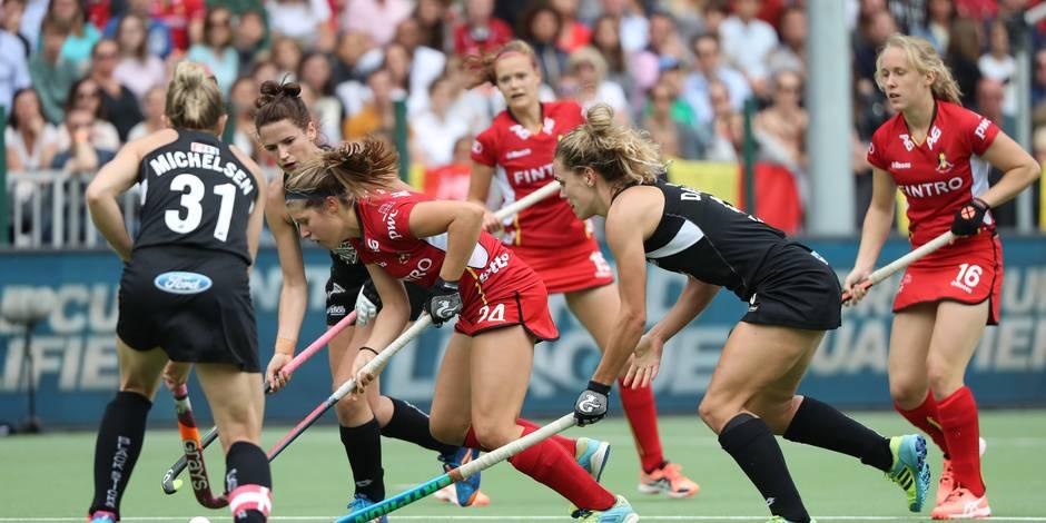 Hockey : exploit belge face à la Nouvelle-Zélande (1-0)