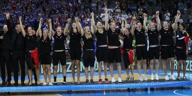 Euro de basket: exceptionnelles face à la Grèce, les Belgian Cats remportent la médaille de bronze (78-45) - La Libre