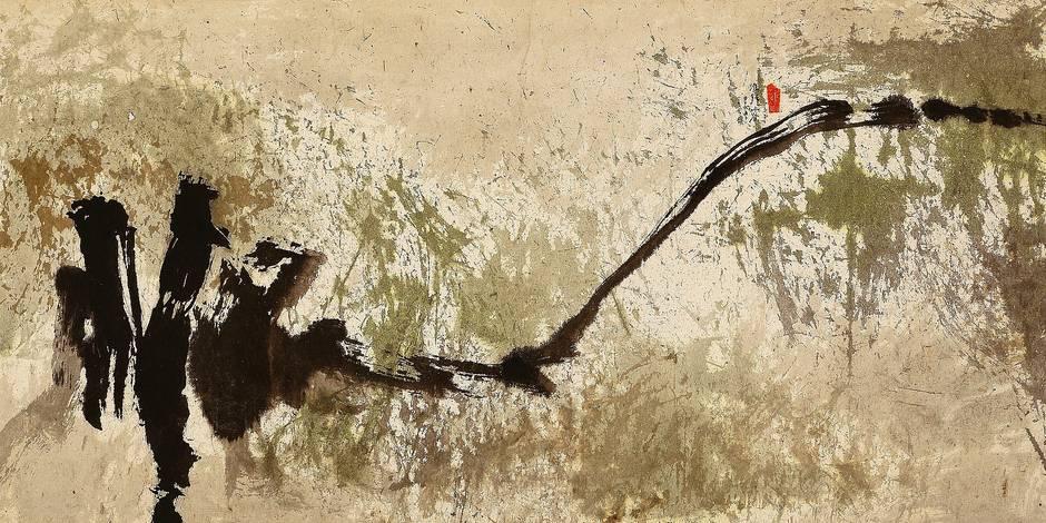 Les pionniers de l'abstraction picturale chinoise - La Libre