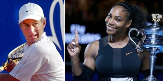 La réponse de Serena Williams au commentaire sexiste de John McEnroe - La Libre