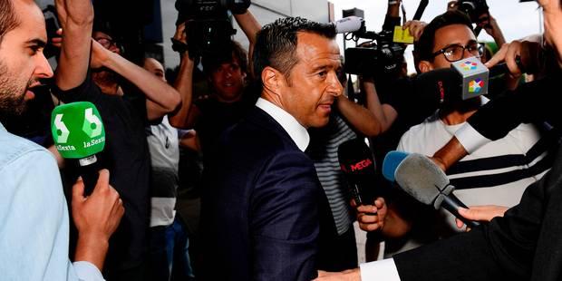 """Le """"super-agent"""" de Ronaldo, Jorge Mendes, poursuivi pour délit fiscal - La Libre"""