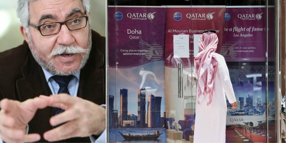 """Isolement du Qatar: """"La mini-tornade du Golfe est sous le contrôle de Washington"""" (ENTRETIEN) - La Libre"""