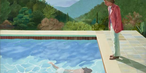 David Hockney, la peinture en fête - La Libre