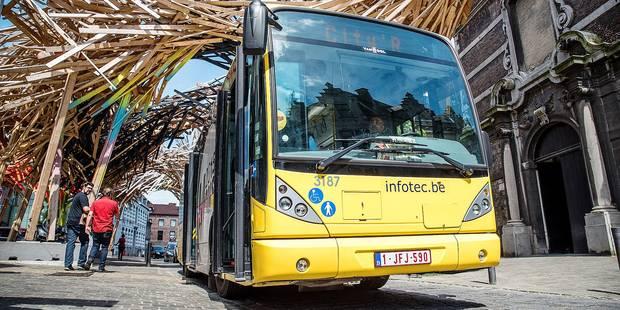 770 000 voyageurs à bord des mini-bus payants à Mons - La Libre
