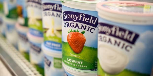Danone vend sa filiale américaine Stonyfield à Lactalis - La Libre