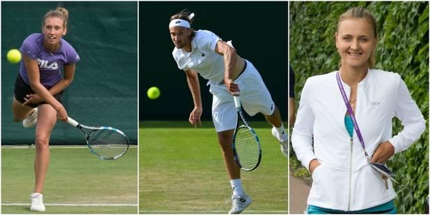 Wimbledon: Mertens et Zanevska éliminées, Bemelmans passe tout en évitant Wawrinka - La Libre