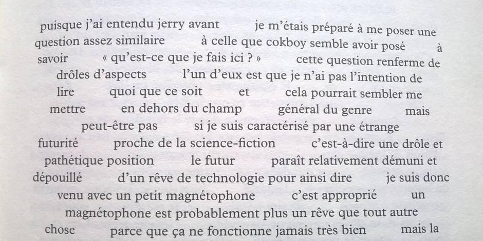 """Le """"talk poem"""" de David Antin, cette parole à la fois """"très érudite et très nonchalante"""" - La Libre"""