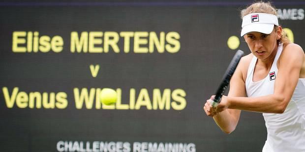 Wimbledon: Mertens tombe avec les honneurs - La Libre