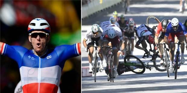 Tour de France: Démare s'impose après une grosse chute dans le sprint (VIDÉO) - La Libre