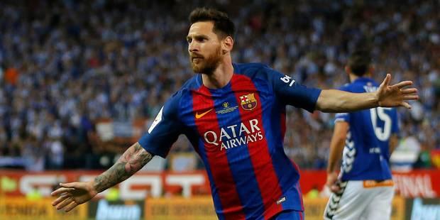 Messi devra payer 252.000 euros d'amende mais évite la prison dans l'affaire de fraude fiscale - La Libre