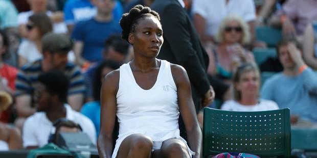 """Accident mortel de la route: Venus Williams conduisait """"en toute légalité"""" - La Libre"""
