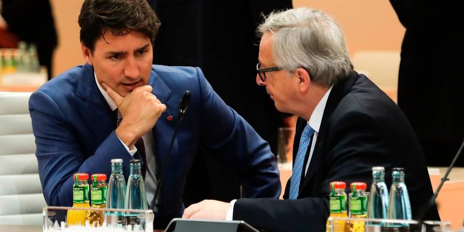 """Le CETA, accord de libre-échange UE-Canada, appliqué """"provisoirement"""" au 21 septembre"""