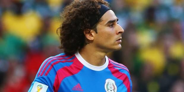 Le Standard officialise l'arrivée du gardien mexicain Guillermo Ochoa - La Libre