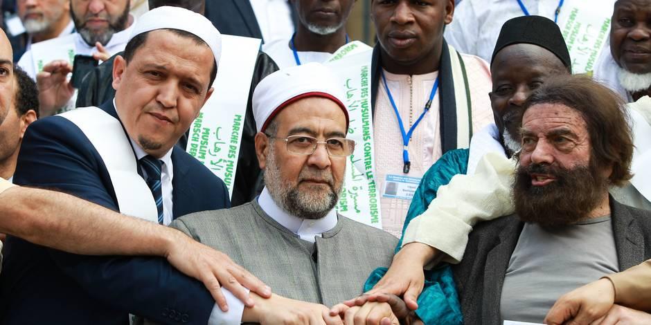 """Marche des imams contre le terrorisme à Bruxelles : """"Je ne me remets pas des attentats. Je suis encore en colère."""""""