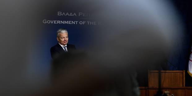 """La gestion de la crise migratoire a atteint """"ses limites"""", estime Reynders - La Libre"""