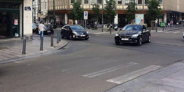 Manque de visibilité des passages piétons, le danger de la place Flagey - La Libre