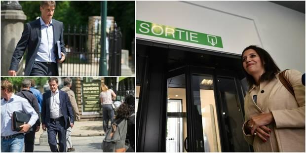 Crise politique: Ecolo quitte les négociations, MR et CDH se voient vendredi matin pour élaborer un projet mais leur por...