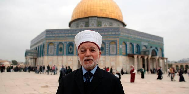 Le mufti de Jérusalem brièvement détenu par la police israélienne - La Libre